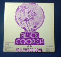 Alice Cooper ‎– At The Hollywood Bowl Double LP, VG+