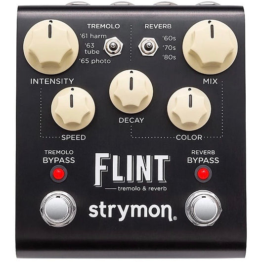 Strymon Flint Tremolo and Reverb Pedal [Call or email to order]