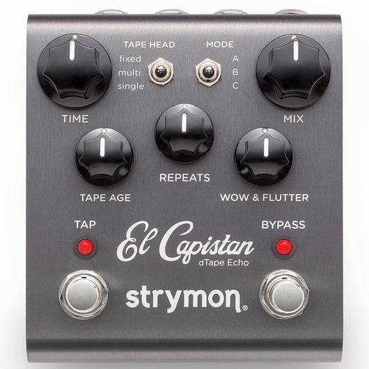Strymon El Capistan Tape Simulation Delay Pedal [Call or email to Order]