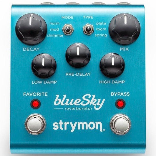 Strymon Blue Sky Reverb Pedal [Available In-Store Only]