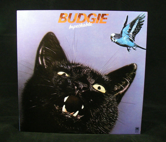 Budgie - Impeckable LP, Prog Rock Killer, 1st Press, EXC Vinyl