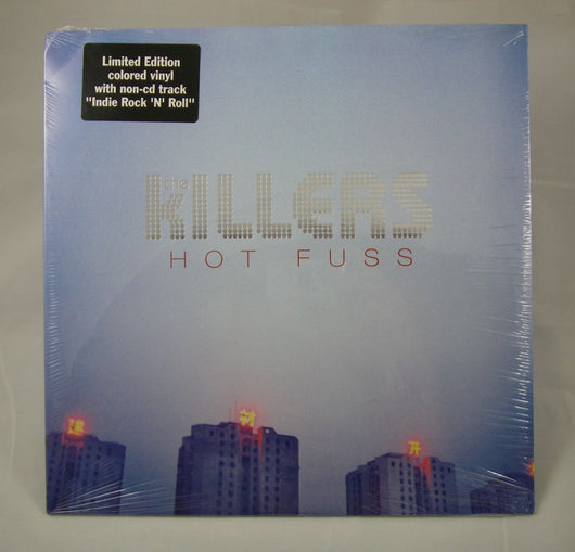 Killers - Hot Fuss LP, Limited Edition Colored Vinyl With Extra Track (only 3000 pressed)