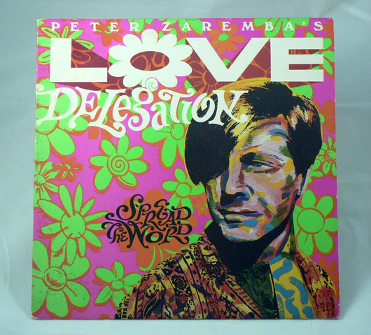 Peter Zaremba's Love Delegation - Spread The Word LP
