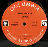 Mad Season - Above Double LP, Ultra Rare Grunge, EXC Vinyl