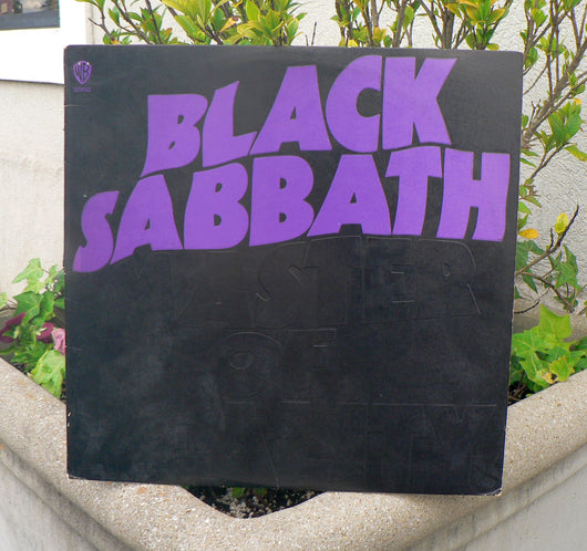 Black Sabbath ‎– Master Of Reality LP, 1st Pressing, EXC