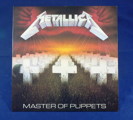 Metallica - Master Of Puppets LP, 1st Pressing Club Edition