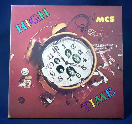 MC5 ‎– High Time LP, 1st Pressing, NM