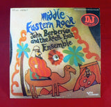 John Berberian And The Rock East Ensemble ‎– Middle Eastern Rock LP, Promo