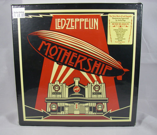 Led Zeppelin - Mothership Box Set, 4 180g LPs With 20 Page Book, Sealed, MINT