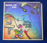 Hampton Grease Band ‎– Music To Eat Double LP, 1st Pressing, Play Graded EXC