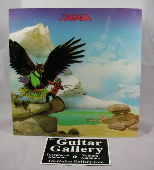 Budgie - Never Turn Your Back on a Friend LP, Gatefold UK Pressing, EXC Vinyl