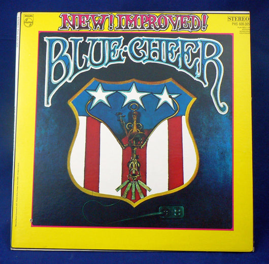 Blue Cheer ‎– New! Improved! Blue Cheer LP, EXC