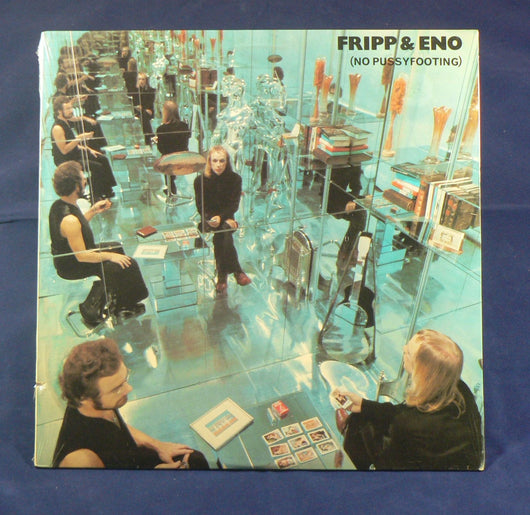Robert Fripp & Brian Eno - No Pussyfooting LP, Sealed