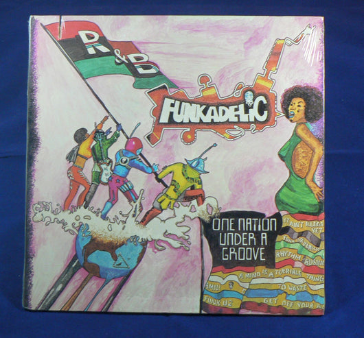 Funkadelic - One Nation Under A Groove LP, Sealed