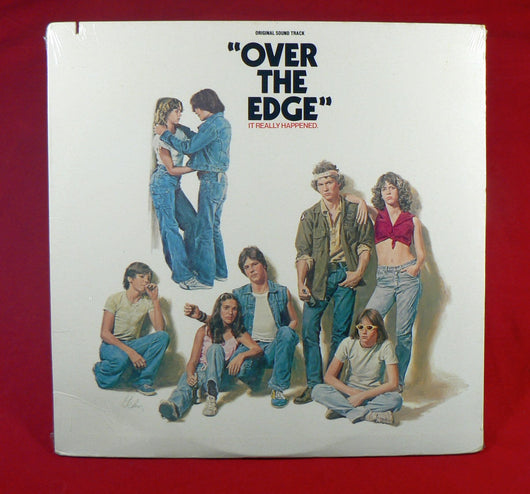 Various - Over The Edge (Original Sound track) LP, Sealed, Cheap Trick, The Cars, Van Halen, Ramones, More...