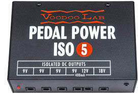Voodoo Lab Pedal Power ISO-5 Pedal Board Power Suppy