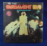 Parliament - Live P. Funk Earth Tour Double LP, Sealed 1st Pressing With Poster And Iron-On