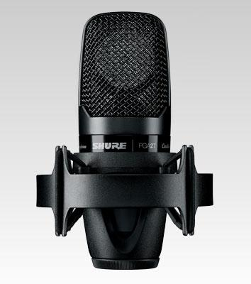 Shure PGA 27 Large Diaphragm Recording Microphone