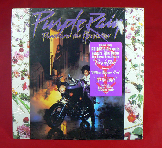 Image result for The Revolution Purple Rain on vinyl lp