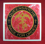 Queensryche - Rage For Order LP, EXC Vinyl