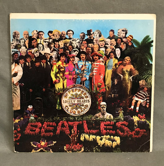 Beatles- SGT. Pepper's Lonely Hearts Club Band LP, Reissue