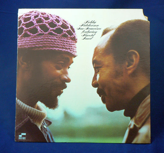 Bobby Hutcherson Featuring Harold Land ‎– San Francisco LP, 1st Pressing, EXC