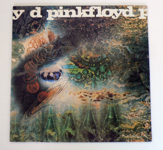 Pink Floyd - A Saucerful Of Secrets LP, Early 1973 Reissue, UK Pressing, NM