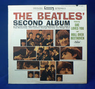 Beatles ‎– The Beatles' Second Album LP, 1971 Reissue, EXC