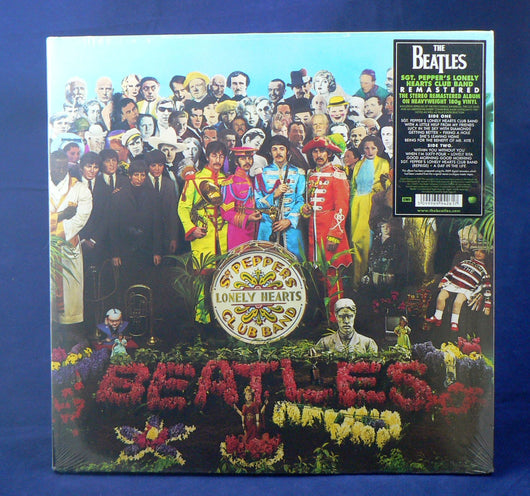 The Beatles ‎– Sgt. Pepper's Lonely Hearts Club Band LP, New, Remastered 180Gram