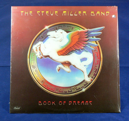 Steve Miller Band - Book Of Dreams LP, Sealed 1977