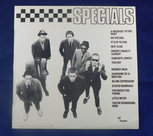 Specials The Specials LP, Spanish Import, 1st Pressing
