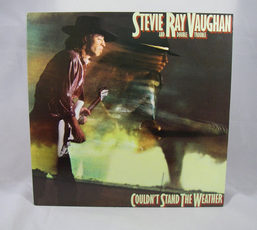 Stevie Ray Vaughan - Couldn't Stand the Weather LP, Reissue, NM