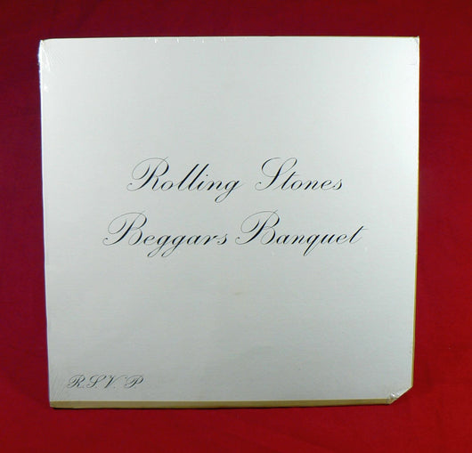 Rolling Stones - Beggars Banquet LP, Sealed, 1968 Pressing