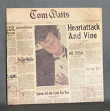 Tom Waits- Heartattack and Vine LP