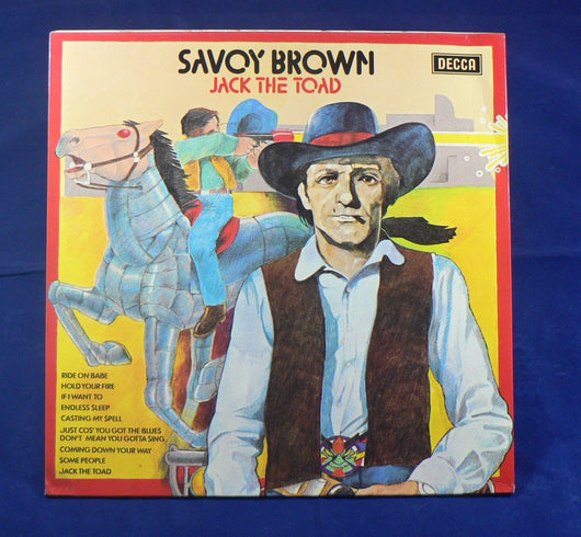 Savoy Brown - Jack The Toad LP, UK Import