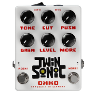 OKKO TwinSonic Dual Pedal with Clean Boost And Overdrive