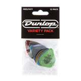 Dunlop Variety Pack of Medium and Heavy Picks, Pack of 12