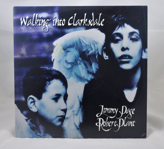 Jimmy Page, Robert Plant ‎– Walking Into Clarksdale Double LP, EXC (Correct Press)