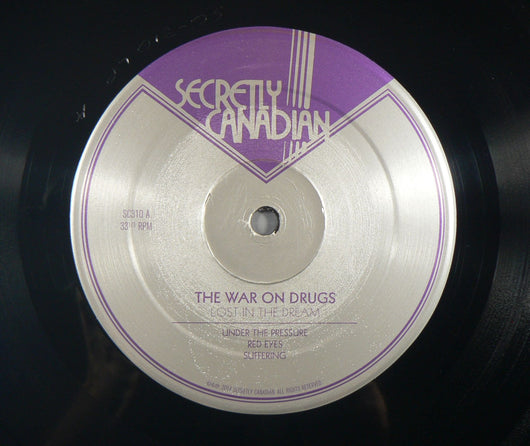 War On Drugs Lost In The Dream Double Lp Exc Vinyl