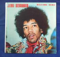 Jimi Hendrix - Welcome Home LP, Sealed 1981 German Import