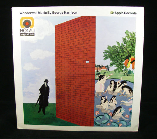 George Harrison - Wonderwall Music By George Harrison LP, 1968 German Pressing, NM Vinyl