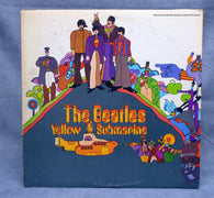 Beatles ‎– Yellow Submarine LP, 1st Pressing, VG+