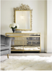 ANTIQUE GOLD MIRRORED DRESSER