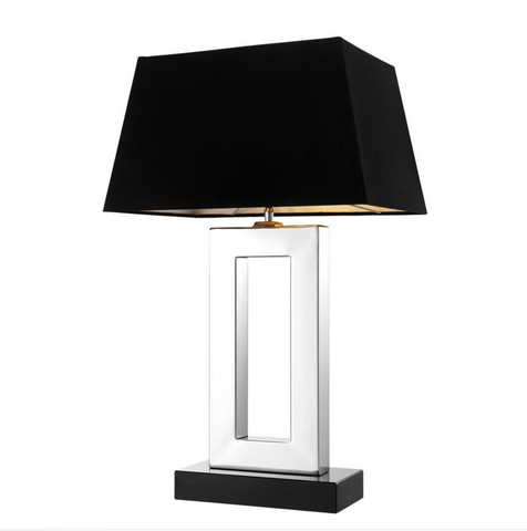 ARLINGTON TABLE LAMP NICKEL