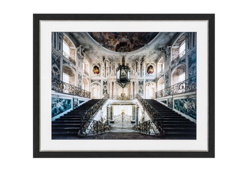 BAROQUE GRAND STAIRCASE PRINT