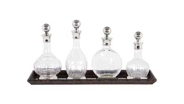 DECANTER ARMAGNAC (SET OF 4)