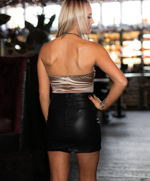 Private Party: Leather Skirt