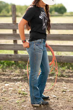 The Isabel: Flare Jeans