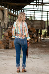 The Playa: Slim Fit Blouse