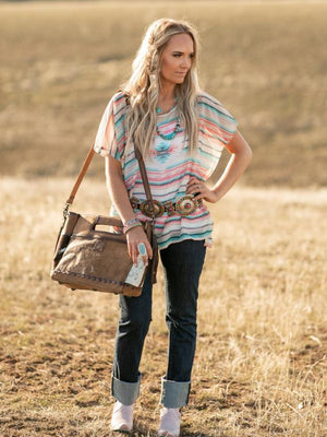Amarillo By Morning: Serape Poncho